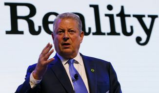 "The climate blame began in earnest last week with former Vice President Al Gore, who described the deluge as an example of ""one of the manifestations of climate change."" Those remarks were followed by a rash of supportive articles. (Associated Press)"