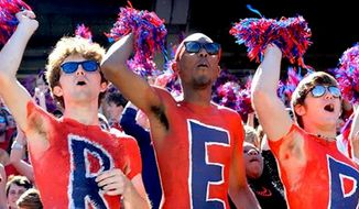 """The University of Mississippi will no longer allow its marching band to play any versions of """"Dixie."""" (Facebook, University of Mississippi)"""
