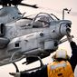 An AH-1Z Viper Super Cobra helicopter lands aboard the USS Makin Island in the Pacific Ocean, Oct. 5, 2010. (U.S. Marine Corps) ** FILE **