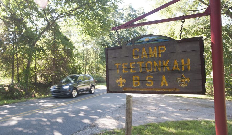 Camp Teetonkah on Monday, August 22, 2016. Camp Teetonkah was announced as one of five Michigan Boy Scout camps to be shut down by the end of 2016. Both Jackson County Parks and Friends of Camp Teetonkah, a nonprofit group of scouting volunteers and local nonprofit groups, have expressed interest in the property. (J. Scott Park/Jackson Citizen Patriot-Mlive.com via AP)