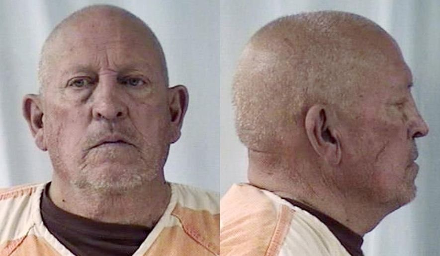 This undated combination of booking photos released by the Laramie County Sheriff's Department shows Fredrick Lamb. He's a former police officer now charged with murder in the 1985 death of a woman in Laramie County, Wyo. (Laramie County Sheriff's Department via AP)