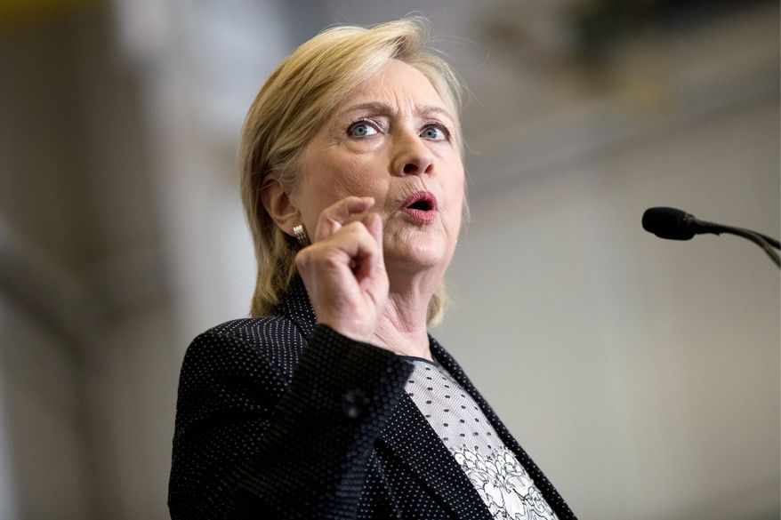 Democratic presidential nominee Hillary Clinton is the target of the same accusations she lobbed at Barack Obama in the 2008 campaign. (Associated Press)