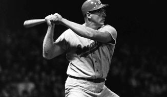 At 6-foot-8, 285 pounds, Washington Senators slugger Frank Howard was feared at the plate. But off the field, his heart was bigger than his stature. (Associated Press)