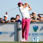 """Rickie Fowler was """"trending up"""" in making the U.S. Ryder Cup team with how he played The Barclays this weekend. (Associated Press)"""