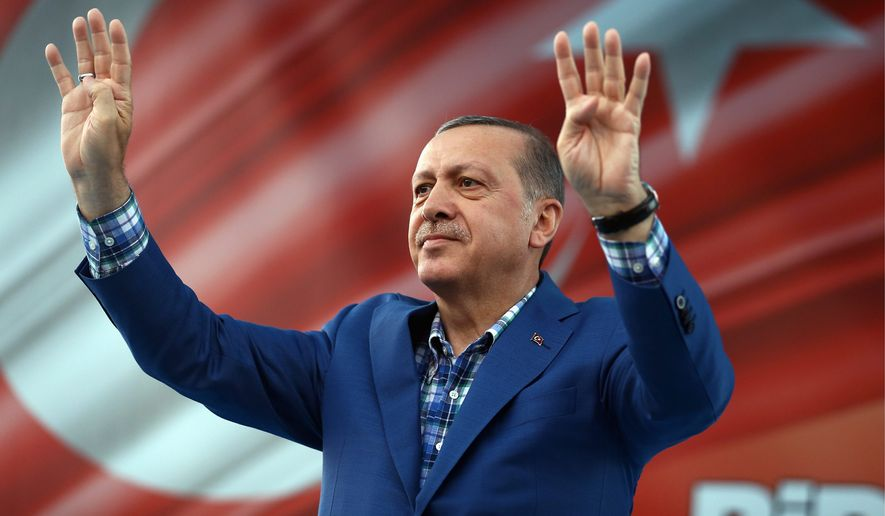 Turkish President Recep Tayyip Erdogan has exploited class and ethnic divides for years to tighten his reins on power, critics say. (Associated Press)