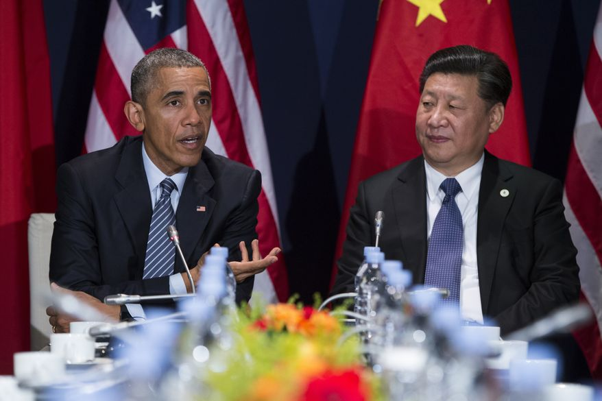 It would surprise no one if President Obama and Chinese President Xi Jinping were to announce the ratification of the sweeping climate change agreement before the Sunday opening of the Group of 20 summit in Hangzhou, Zhejiang. (Associated Press)