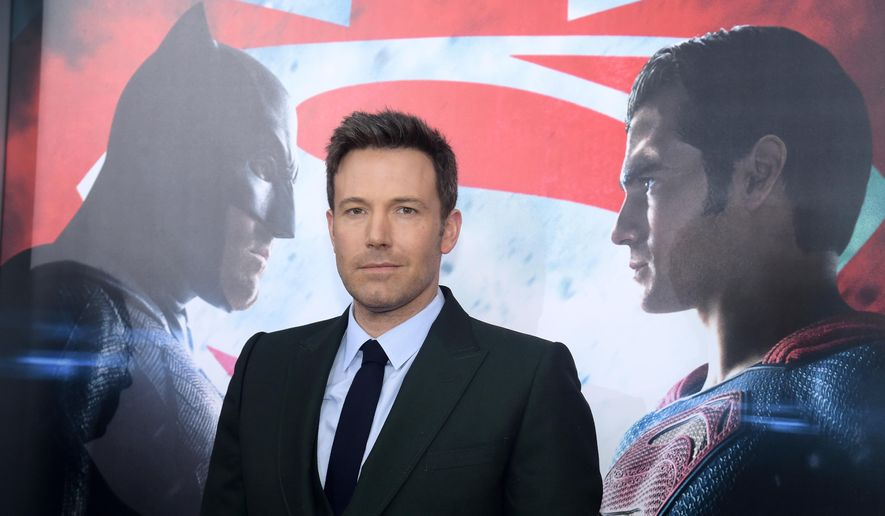 """FILE - In this March, 20 2016, file photo, Ben Affleck attends the premiere of """"Batman v Superman: Dawn of Justice"""" at Radio City Music Hall in New York. Speculation is rampant about Affleck's upcoming standalone Batman film after the actor tweeted video on Monday, Aug. 29 or what appears to be a film version of DC Comics villain Deathstroke. (Photo by Charles Sykes/Invision/AP, File)"""