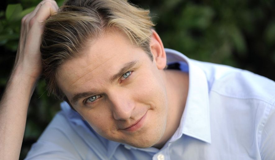 "FILE - In this July 31, 2011, file photo, actor Dan Stevens poses for a portrait in Beverly Hills, Calif. A producer on the upcoming live-action adaptation of ""Beauty and the Beast"" has invited his social media followers to be his guest to a first look at several characters from the film. ""Beauty and the Beast"" co-producer Jack Morrissey posted images on his Facebook account Friday, Aug. 26, 2016, of the computer-generated renditions of Ewan McGregor as candelabra Lumiere and Ian McKellen as clock Cogsworth, as well as Stevens in human prince form.  (AP Photo/Chris Pizzello, File)"