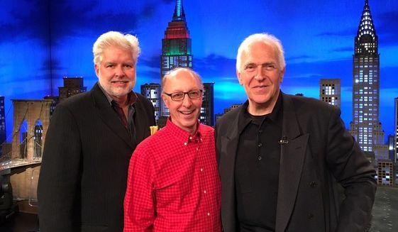 David Sams (left) with Joe Battaglia (center) and Spencer Proffer. Image courtesy of CieloScope.
