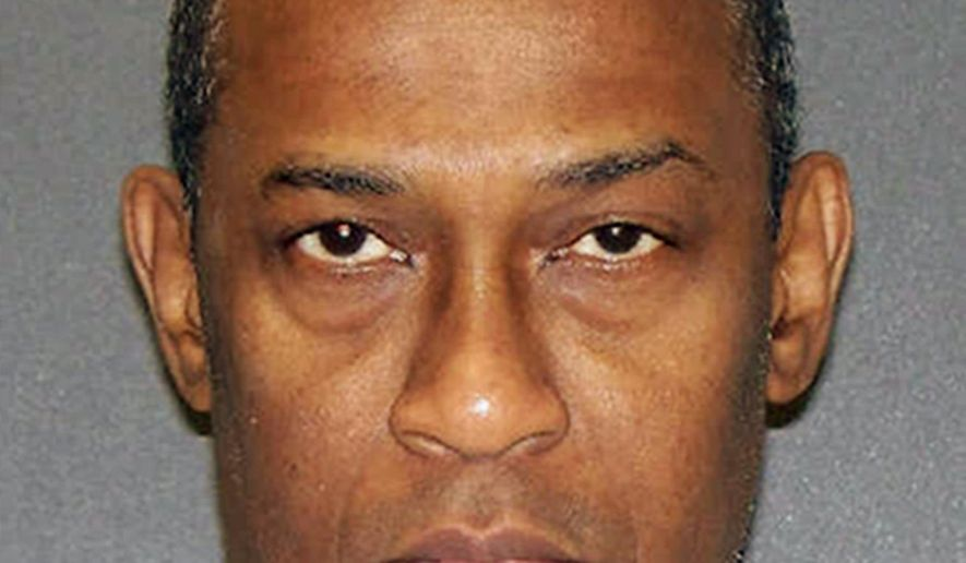 This undated photo provided by the Texas Department of Criminal Justice shows death row inmate Gerald Eldridge. In a ruling late Monday, Aug. 29, 2016, a federal appeals court said Eldridge may have faked mental illness to avoid execution for the fatal shooting of his ex-girlfriend and her daughter 23 years ago in Houston. The ruling moves Eldridge a step closer to execution, despite his claim of mental illness. (Texas Department of Criminal Justice via AP)