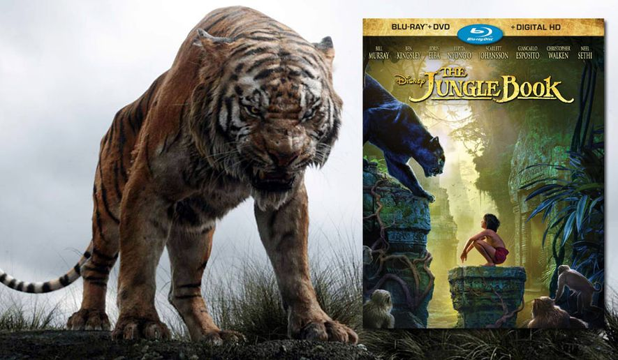 "The Bengal tiger Shere Khan in ""The Jungle Book,"" now available on Blu-ray from Walt Disney Studios Home Entertainment."