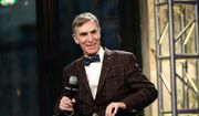 """In this Dec. 17, 2015, file photo, Bill Nye, the Science Guy, participates in AOL's BUILD Speaker Series to discuss his new book, """"Unstoppable: Harnessing Science To Change The World"""", at AOL Studios, in New York. Nye is going to be a Netflix guy. The streaming network announced plans Wednesday, Aug. 31, 2016, to launch a series, """"Bill Nye Saves the World,"""" hosted by the famed scientist, author and TV personality. (Photo by Evan Agostini/Invision/AP, File)"""
