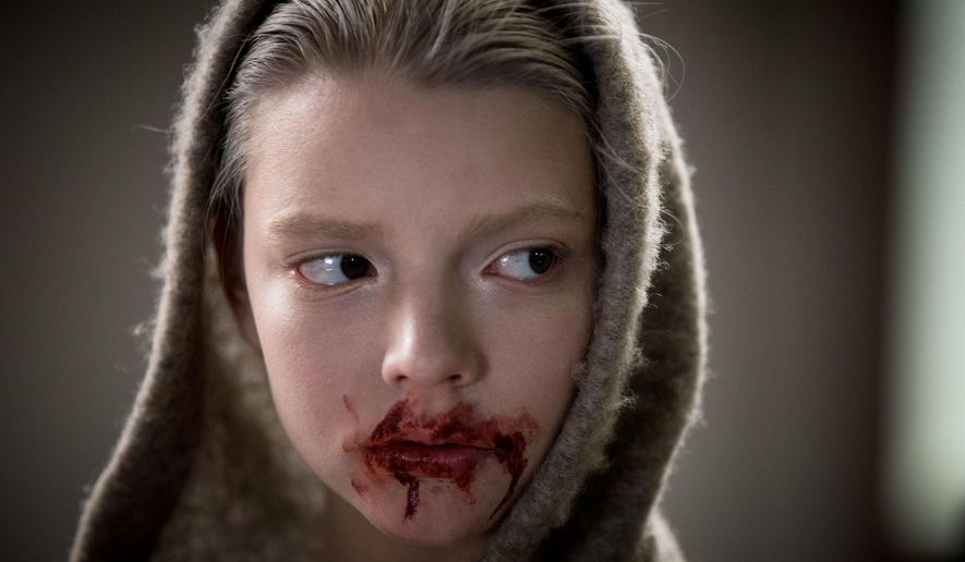 "This image released by Twentieth Century Fox shows Anya Taylor-Joy in a scene from ""Morgan."" (Aidan Monaghan/Twentieth Century Fox via AP)"