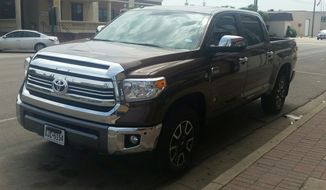 It's a big truck with a big personality on the road. That's what the 2016 Toyota Tundra can promise you. The Tundra is a full-size pickup truck with strong engine options and this year's additions also include a larger gas tank on several of the trims and new styling in the front on the SR5 and 1794. (Photo by Rita Cook)