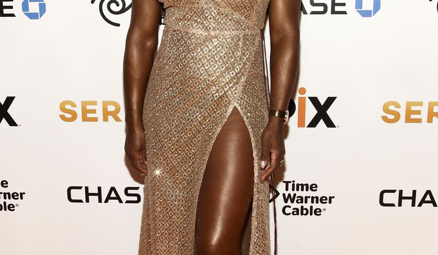 """FILE - In this June 13, 2016, file photo, Serena Williams attends the premiere of EPIX original documentary """"Serena,"""" at the SVA Theatre in New York. Williams released a new video Thursday, Sept. 1 on YouTube, featuring the 34-year-old performing various dance styles. She has practiced dance in the past and said it is one of her favorite hobbies. (Photo by Andy Kropa/Invision/AP, File)"""