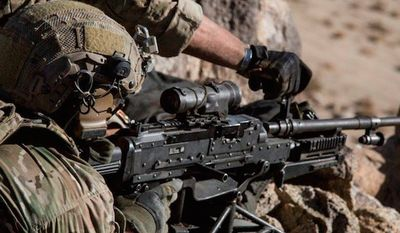 The first female candidate to try out for the U.S. Army's elite 75th Ranger Regiment did not succeed. (Facebook, The 75th Ranger Regiment)