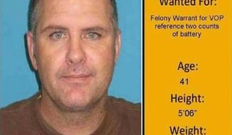 """Florida police arrested Mack Yearwood on Tuesday after he posted his own """"Wanted"""" poster as his Facebook profile picture. (WPBF)"""