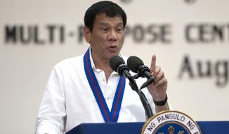 Philippine President Rodrigo Duterte has been under intense global scrutiny over the more than 2,000 suspected drug dealers and users killed since he took office, and President Obama has said he planned to raise the issue. (Associated Press)