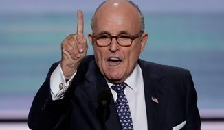 Former Mayor Rudy Giuliani, despite a spectacular flameout in the 2008 presidential campaign, has come to bat for the 2016 GOP nominee, fellow New Yorker Donald Trump. (Associated Press)