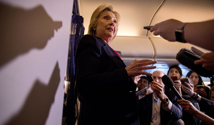The latest evidence confounding those trying to understand Hillary Clinton's handling of emails comes from the FBI, which released notes of its criminal investigation last week showing the former secretary remarkably unaware of her own classification powers as secretary. (Associated Press)
