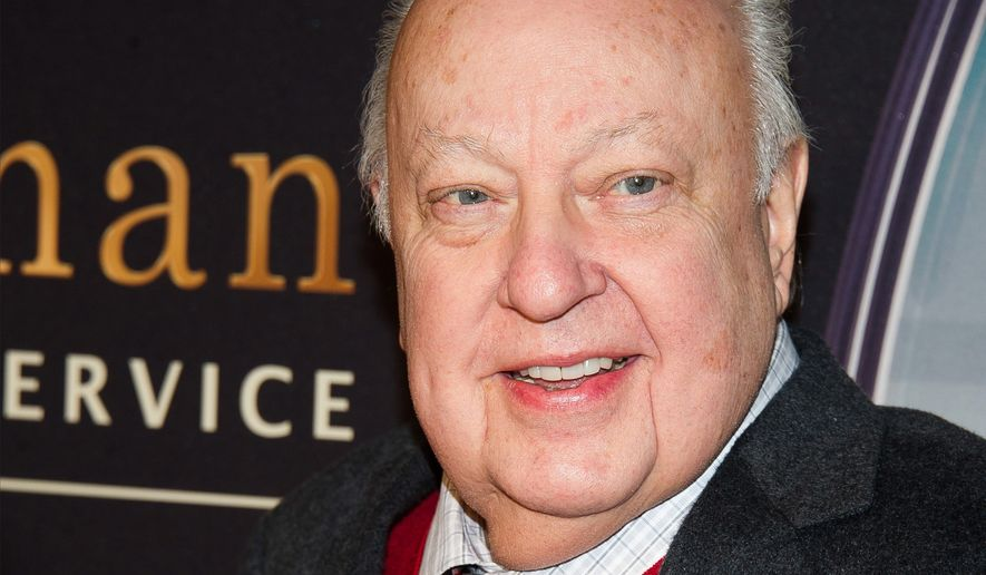 "Roger Ailes attends a special screening of ""Kingsman: The Secret Service"" in New York, Feb. 9, 2015. (Associated Press) ** FILE **"