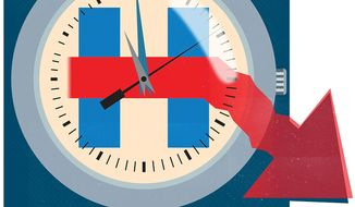 Illustration on the last remaining days of the 2016 campaign by Linus Garsys/The Washington Times