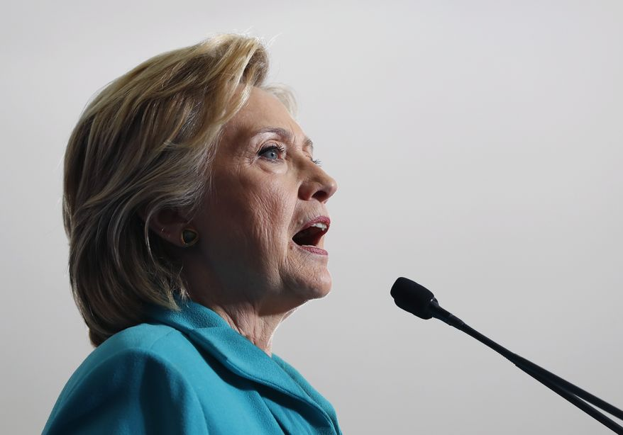 Hillary Clinton said she stands by the 2011 decision to take action in Libya and that America suffered no casualties. (Associated Press)