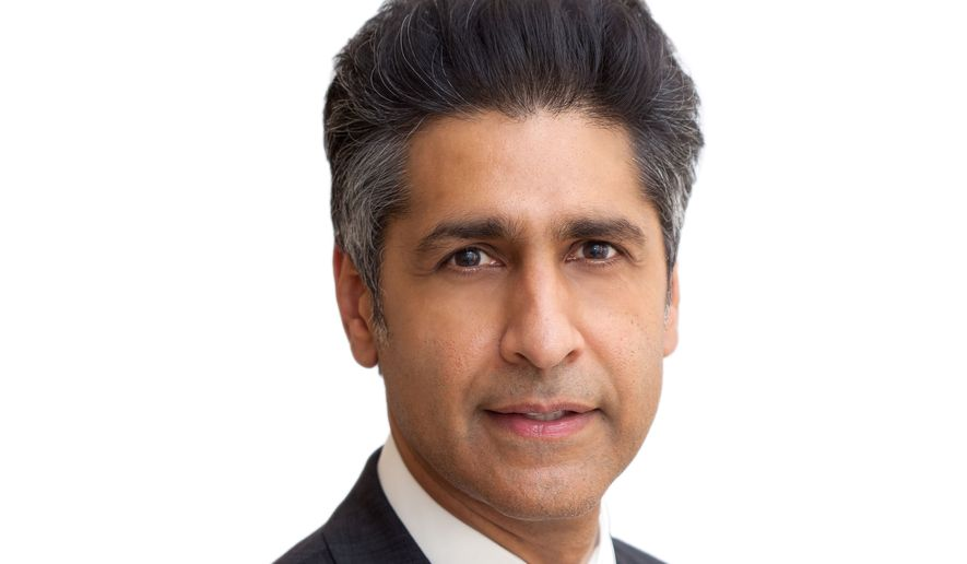 This photo provided by Latham & Watkins LLP shows attorney Abid Riaz Qureshi of Maryland. President Barack Obama has nominated Abid Riaz Qureshi for the federal bench. If confirmed, he would be the first Muslim American to serve as a federal judge. (Latham & Watkins LLP via AP)