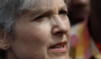 Green Party presidential candidate Jill Stein speaks during a news conference at South Austin neighborhood Thursday, Sept. 8, 2016, in Chicago. (AP Photo/Tae-Gyun Kim)