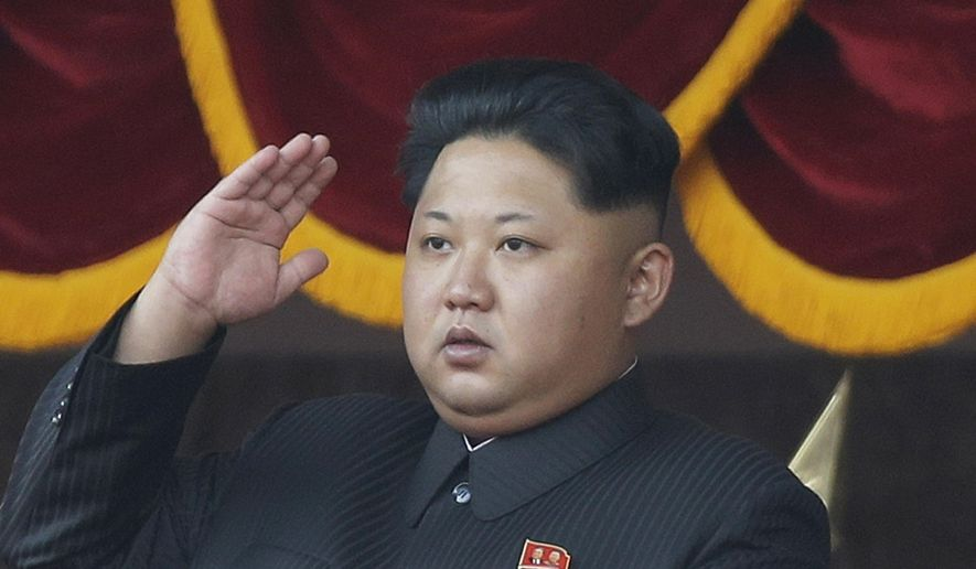 In this Oct. 10, 2015, file photo, North Korean leader Kim Jong-un salutes at a parade in Pyongyang, North Korea. South Korean and international monitoring agencies reported Friday, Sept. 9, 2016, an earthquake near North Korea's northeastern nuclear test site, a strong indication that Pyongyang had detonated its fifth atomic test explosion. (AP Photo/Wong Maye-E, File)
