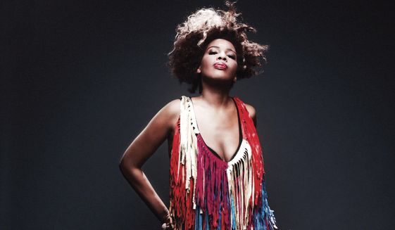 """This cover image released by Chesky Records shows """"Stripped,"""" the latest release by Macy Gray. (Chesky Records via AP)  ** FILE **"""