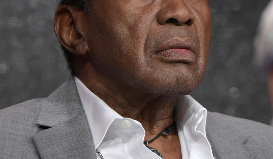 """FILE- In this Aug. 8, 2016 file photo, Ben Vereen participates in the panel for """"The Rocky Horror Picture Show"""" during the Fox Television Critics Association summer press tour in Beverly Hills, Calif. The New York Post reports that after Vereen's first wife learned that their divorce in the 1970's was never official, the pair appeared in court in New York, Thursday, Sept. 8, 2016 to hash things out. (Photo by Richard Shotwell/Invision/AP, File)"""