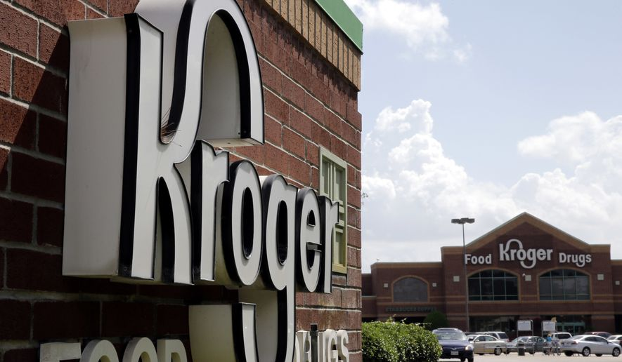 A Kroger store in Houston is show in this June 17, 2014, file photo. (AP Photo/David J. Phillip, File) ** FILE **