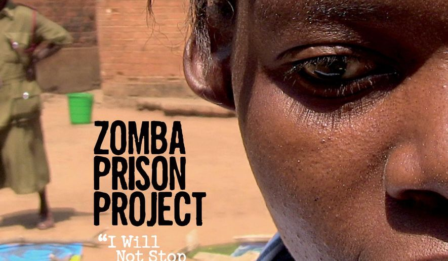"This cover image released by Six Degrees Records shows ""I Will Not Stop Singing,"" the latest release by Zomba Prison Project. (Six Degrees Records via AP)"