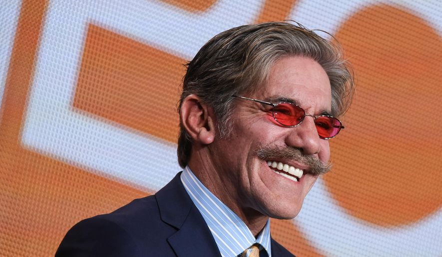"In this Jan. 16, 2015, file photo, Geraldo Rivera participates in ""The Celebrity Apprentice"" panel at the NBC 2015 Winter TCA  in Pasadena, Calif.  Rivera says he's ""filled with regret"" for initially discounting the sexual harassment allegations against his former Fox News Channel boss, Roger Ailes, and is apologizing for his skepticism.  (Photo by Richard Shotwell/Invision/AP)"