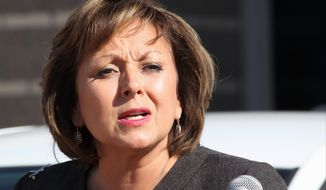 New Mexico Gov. Susana Martinez is pushing to bring back the death penalty to her state after a spate of murders that included two police officers. (Associated Press)