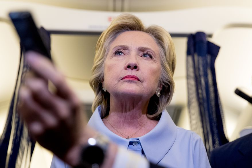 Hillary Clinton had her attorneys scour her email account, and that was what landed them in potential jeopardy.(Associated Press/File)