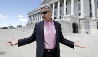 Libertarian presidential candidate Gary Johnson doesn't have support even within his party. (Associated Press/File)