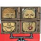 Illustration on the relative character of the two presidential candidates by Linas Garsys/The Washington Times