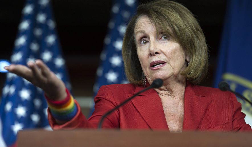 House Minority Leader Nancy Pelosi and fellow California Democrats have begun lobbying the administration to approve the state's application, even though it probably won't be submitted until later this month. (Associated Press)