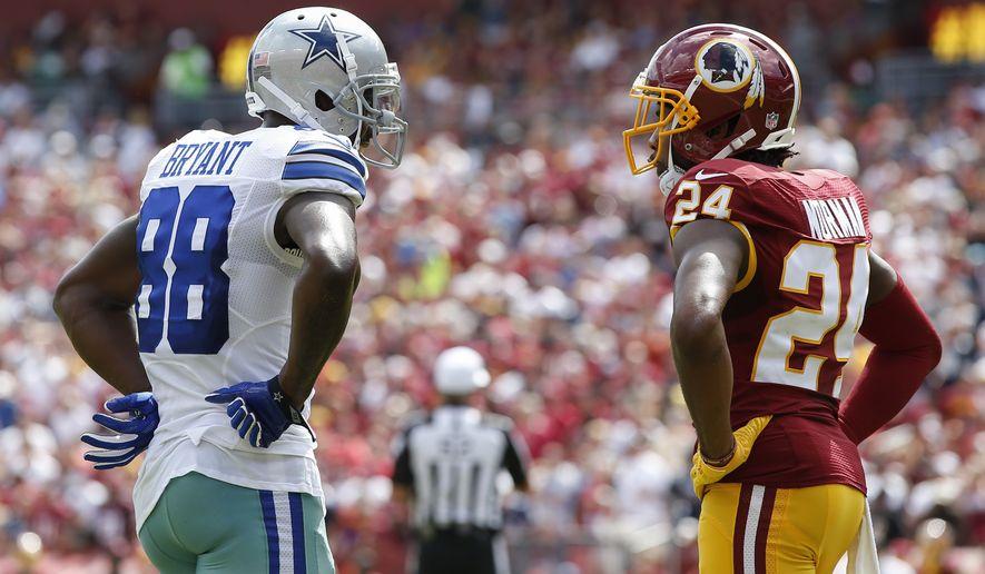 Dallas Cowboys wide receiver Dez Bryant (88) and ...