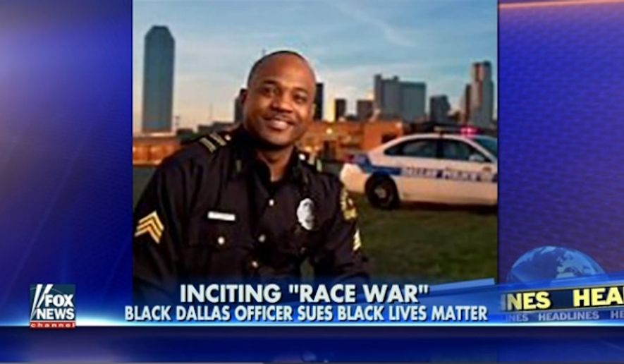 Dallas Police Sgt. Demetrick Pennie has filed a federal lawsuit against Black Lives Matter leaders, President Obama, George Soros and others for allegedly inciting racial violence against law enforcement. (Fox News)