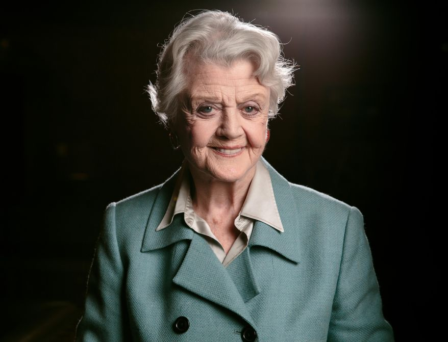 In this Dec. 5, 2014 file photo, Angela Lansbury poses for a portrait at the Ahmanson Theatre in Los Angeles. (Photo by Casey Curry/Invision/AP, File)