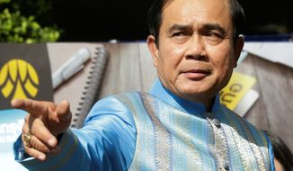 The government of Thai Prime Minister Prayuth Chan-ocha insists the August constitution vote ushered in stability, but political dissidents say they have been subjected to limits on their speech and crackdowns. (Associated Press)