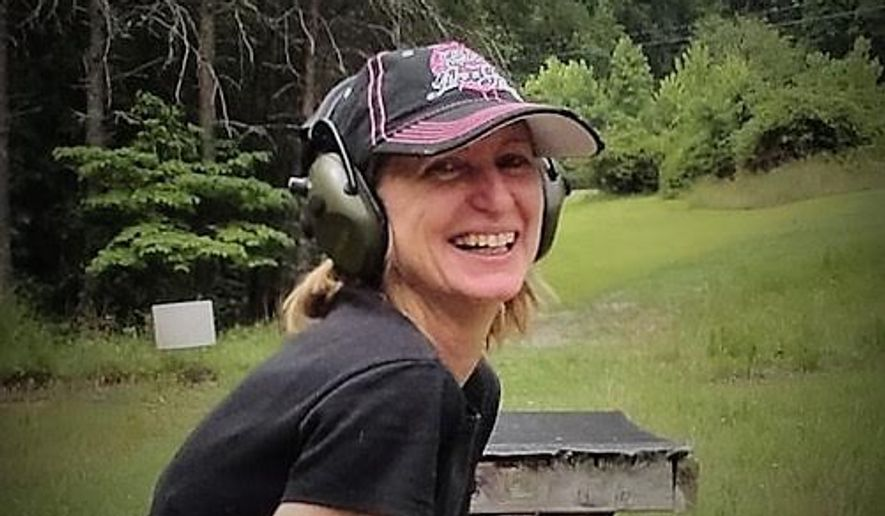 The Well Armed Woman Virginia State Leader Dawn Dolpp with her Every Day Carry gun.