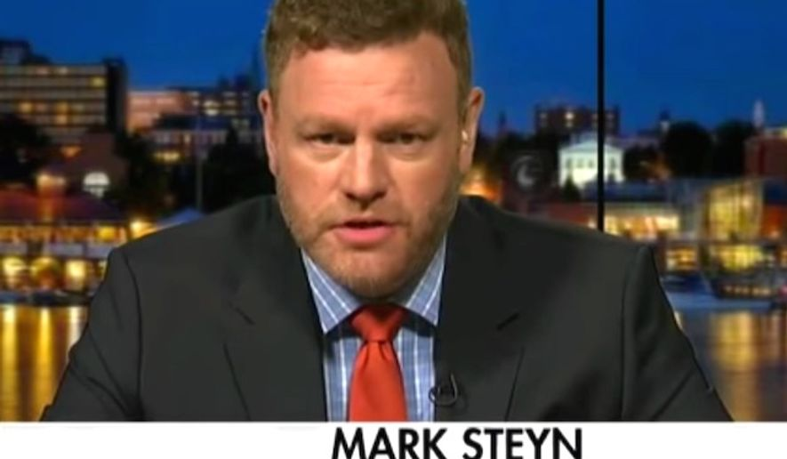 Bestselling author Mark Steyn returned from Europe and discussed terrorism with Bill O'Reilly on Sept. 19, 2016. (Fox News screenshot)