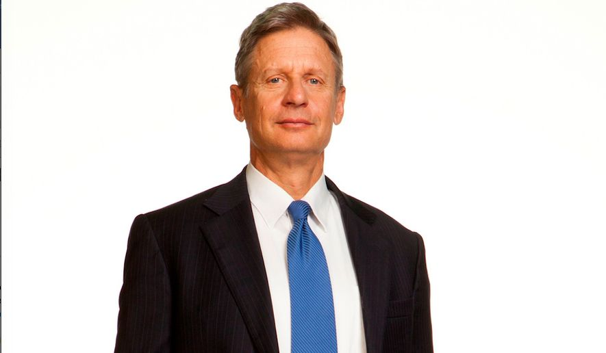 Gary Johnson, Libertarian nominee for president. File photo. (Image from Gary Johnson)