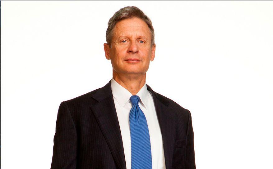 Gary Johnson, Libertarian nominee for president. File photo. (Image from Gary Johnson)