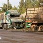 A U.N. aid convoy was stopped in its tracks Monday by bombardment from the air, but U.S. and Russian diplomats insisted that their cease-fire pact was still in place. French Foreign Minister Jean-Marc Ayrault, however, said there is not much more Washington, Moscow or the international community can do to preserve the deal. (Associated Press)