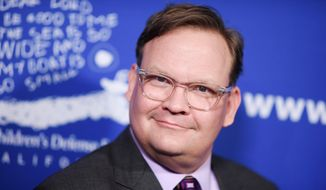 "Andy Richter attends the 25th Annual ""Beat the Odds"" Awards held at the Beverly Wilshire Hotel on Thursday, Dec. 3, 2015, in Beverly Hills, Calif. (Photo by Richard Shotwell/Invision/AP) **FILE**"